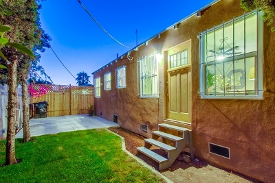 North Park, University Heights Single Family Home For Sale: 4064 Laverne Pl
