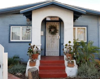 North Park, North Park - San Diego, North Park Bordering South Park, North Park, Kenningston, North Park/City Heights Single Family Home For Sale: 3211 Lincoln