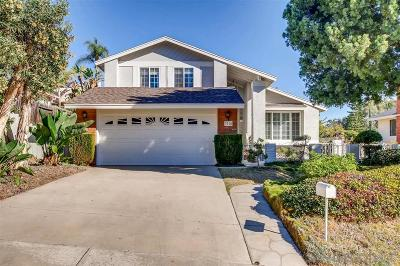 San Diego Single Family Home For Sale: 3718 Catamarca Dr