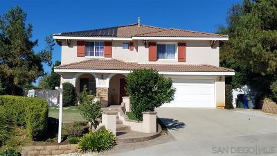 San Marcos Single Family Home For Sale: 750 Hillsboro Way