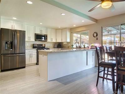 el cajon Single Family Home For Sale: 13557 Laguna Vista Ct