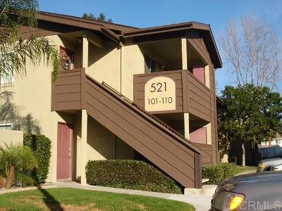 Oceanside Attached For Sale: 521 Calle Montecito #106