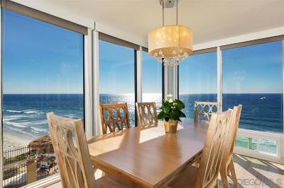 Solana Beach Attached For Sale: 190 Del Mar Shores Ter #1