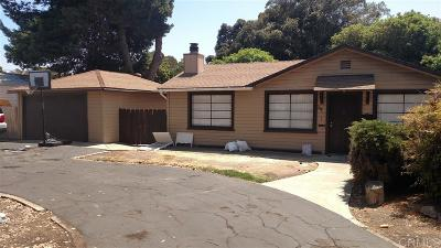 Chula Vista Single Family Home For Sale: 574 I St