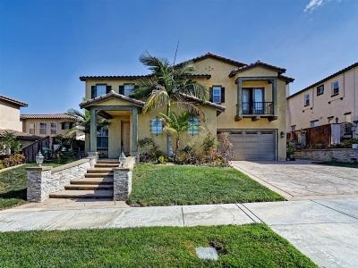 Chula Vista Single Family Home For Sale: 1719 Summer Sky St