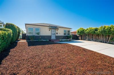 San Diego Single Family Home For Sale: 5603 Potomac St