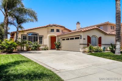 San Marcos Single Family Home For Sale: 1808 Sea Vista Place