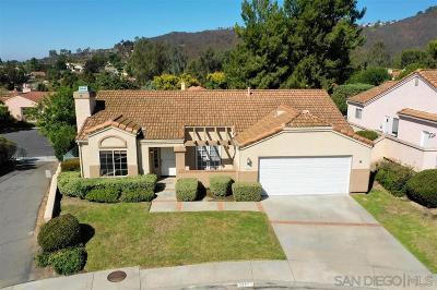 Escondido Single Family Home For Sale: 1777 Larkhaven Glen