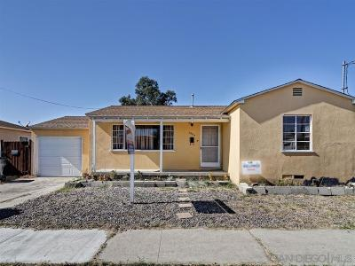 San Diego Single Family Home For Sale: 2384 Ridge View Dr