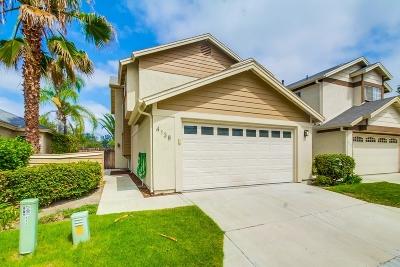 Single Family Home For Sale: 4138 Esperanza Way