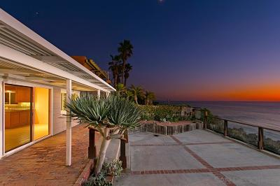 Encinitas CA Single Family Home For Sale: $3,595,000