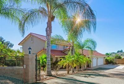 Single Family Home For Sale: 1531 Falda Del Cerro Ct.