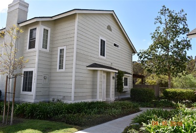 Carlsbad Townhouse For Sale: 3721 Bennington Ct