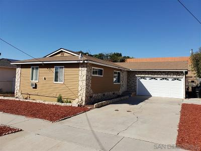 San Diego Single Family Home For Sale: 5064 Solola Ave.