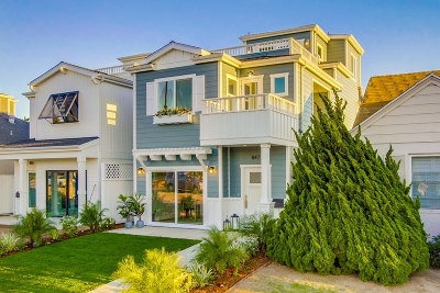San Diego Single Family Home For Sale: 847 Wilbur Ave