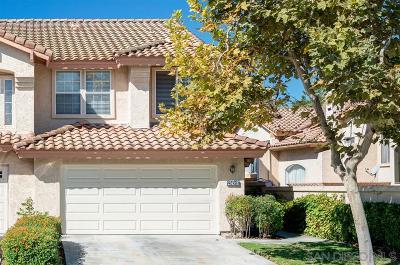 Chula Vista Townhouse For Sale: 2345 Greenbriar Drive #F