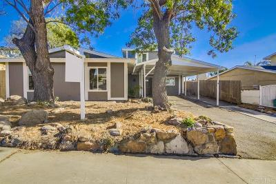 Chula Vista Single Family Home For Sale: 504 Tamarack Ct