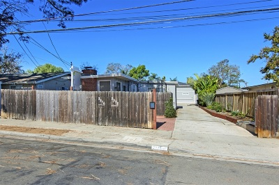 Ocean Beach Multi Family 2-4 For Sale: 2376-2378 Soto Street