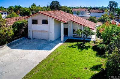 Oceanside Single Family Home For Sale: 5837 Jeffries Ranch Rd