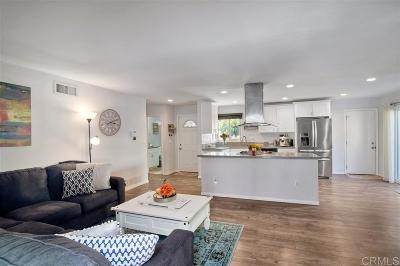 San Diego Single Family Home For Sale: 5282 Auburn Drive