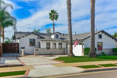 Linda Vista Single Family Home For Sale: 3444 Argyle