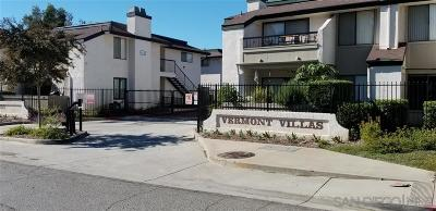 Escondido Attached For Sale: 450 W Vermont Ave #1601