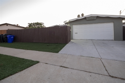Clairemont Single Family Home For Sale: 4032 Cosmo St.