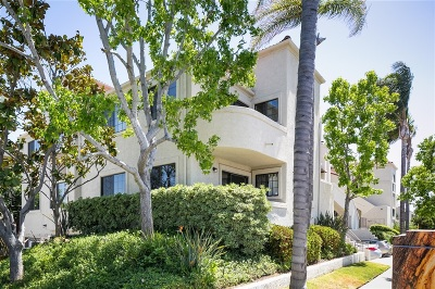 San Diego Attached For Sale: 3727 Richmond #1