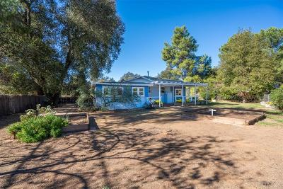Single Family Home For Sale: 15940 Mussey Grade Road