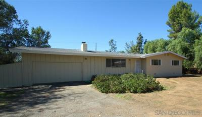 Poway Single Family Home For Sale: 13944 Putney Rd
