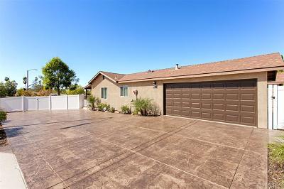 Escondido Single Family Home For Sale: 2124 Oak Hill Dr