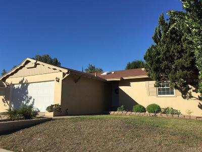 San Diego Single Family Home For Sale: 6652 Archwood Ave.