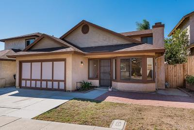 Single Family Home For Sale: 1114 Camino Regalado