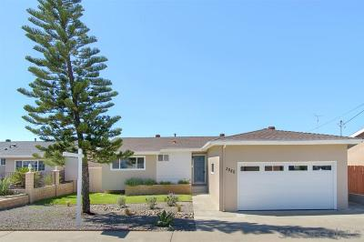 Single Family Home For Sale: 3880 Antiem St