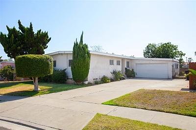 San Diego Single Family Home For Sale: 312 Maxim St
