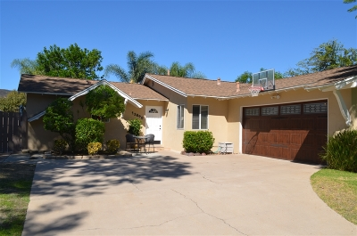 Poway Single Family Home For Sale: 13840 Tobiasson Road