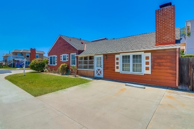 San Diego Single Family Home For Sale: 1880 Oliver Ave