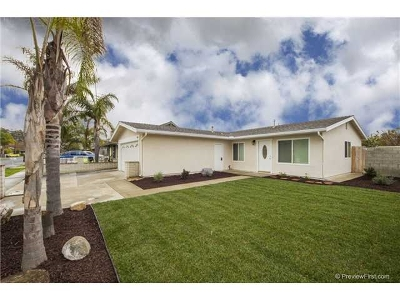 Oceanside Single Family Home For Sale: 155 Heritage