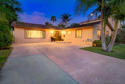 San Diego Single Family Home For Sale: 4117 Caflur Ave.