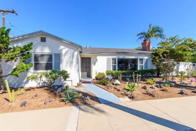 Coronado CA Single Family Home For Sale: $1,575,000