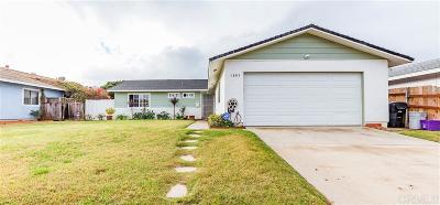 San Diego Single Family Home For Sale: 1805 Royston Drive