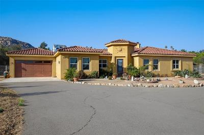 Single Family Home For Sale: 10935 Pala Loma Dr