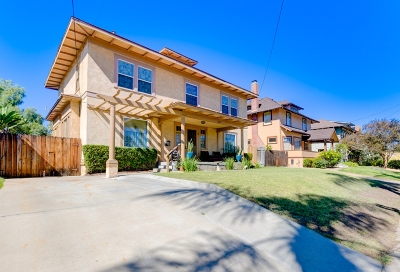 San Diego Single Family Home For Sale: 1322 Granada Avenue