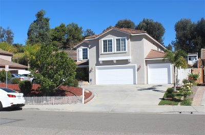 Escondido Single Family Home For Sale: 1782 Seven Oakes Road