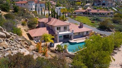 Escondido Single Family Home For Sale: 9734 Little Canyon Ln