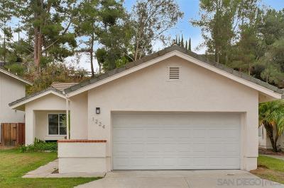Escondido Single Family Home For Sale: 1224 Lancer Gln