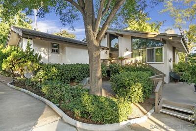 Single Family Home For Sale: 11949 Bajada Road