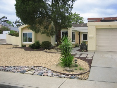 Tierrasanta Single Family Home For Sale: 10848 Valiente