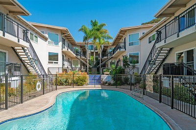 Del Mar Attached For Sale: 460 Camino Del Mar #7