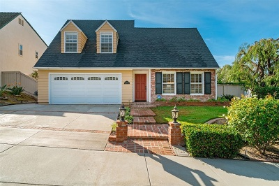 Carlsbad Single Family Home For Sale: 4483 Salisbury Dr